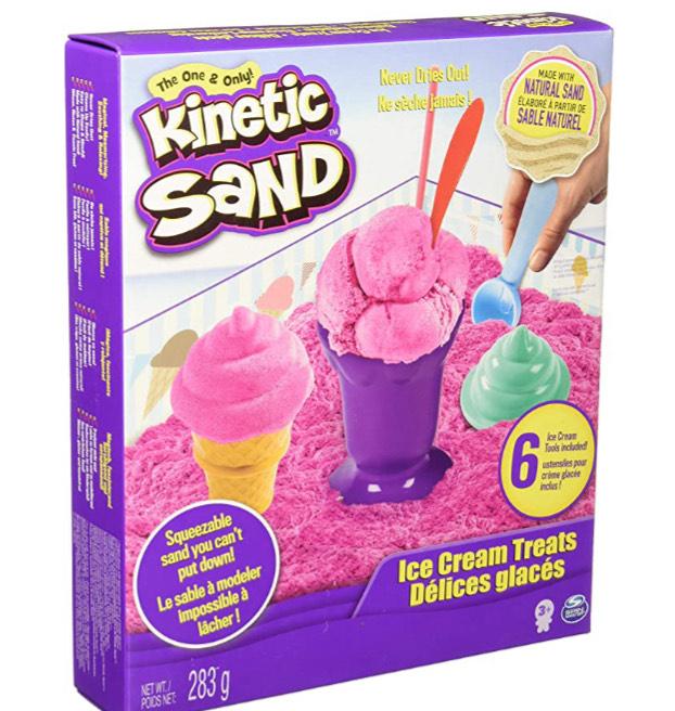 Amazon: Kinetic Sand Set de Heladería