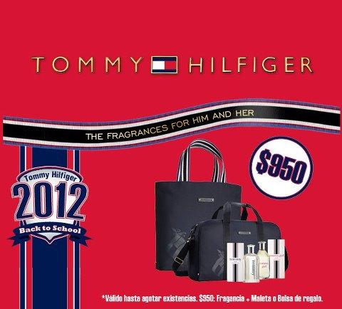 Sears: maleta o bolsa gratis al comprar fragancias Tommy Hilfiger