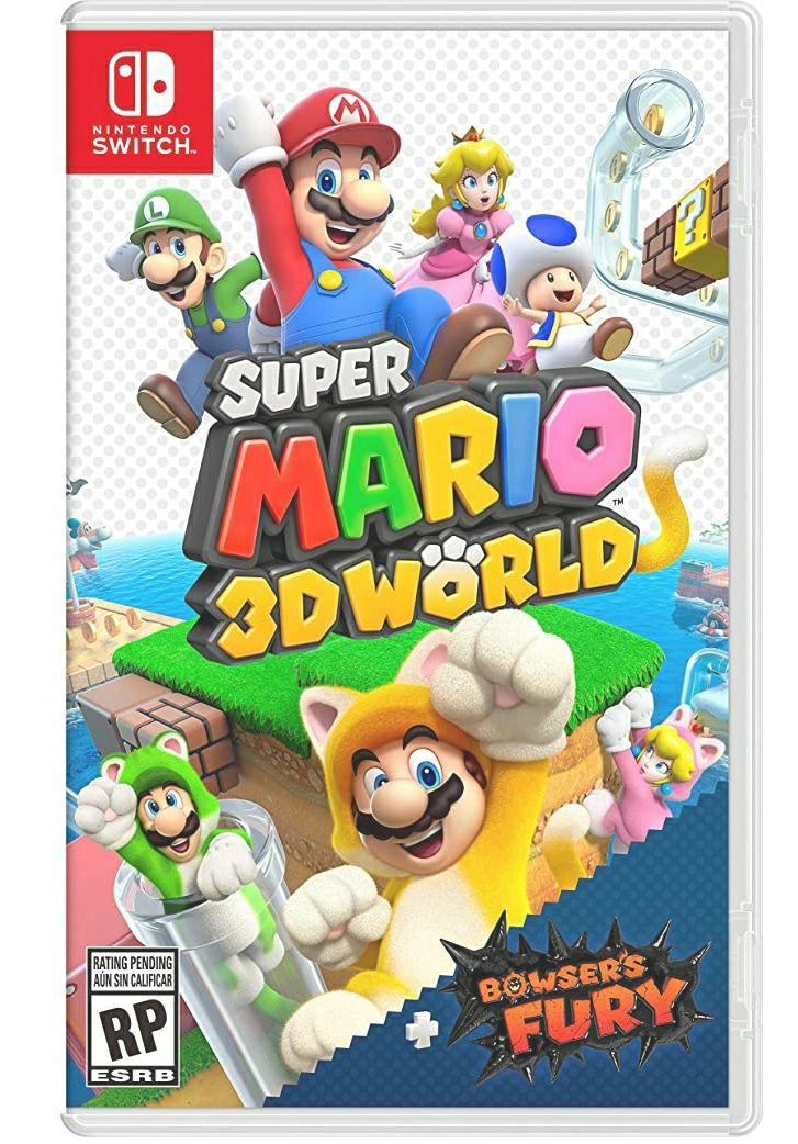Amazon: Super Mario 3D World + Bowser's Fury - Nintendo Switch - Standard Edition