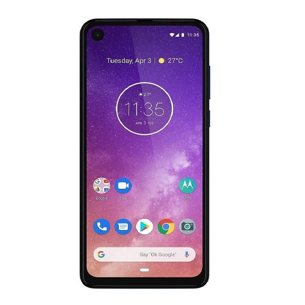 Best Buy:Motorola - Moto One Vision - Azul (Telcel) 128 GB