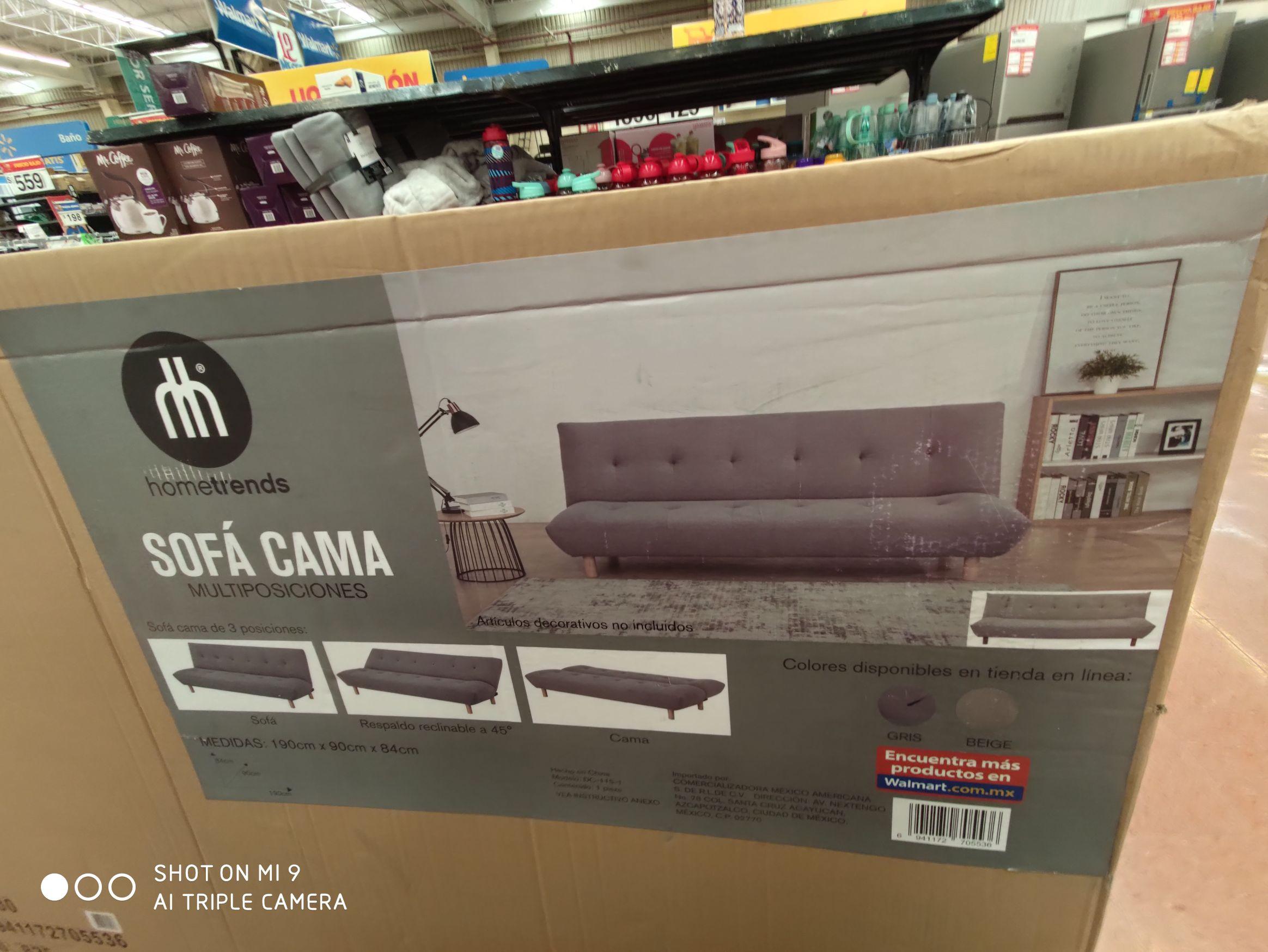 Walmart: Sofá cama en liquidación