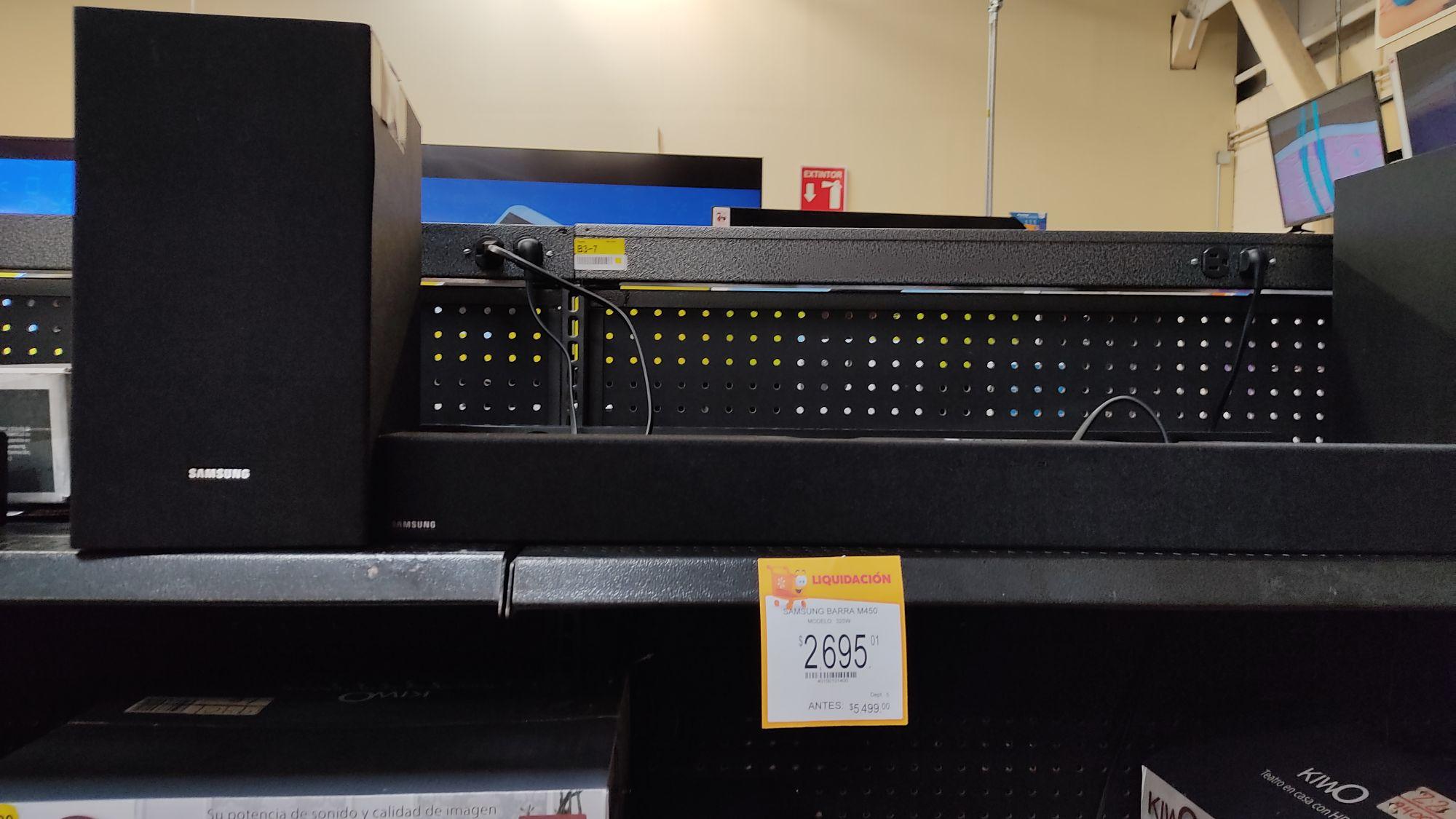 Walmart: Samsung Barra M450 con subwoffer