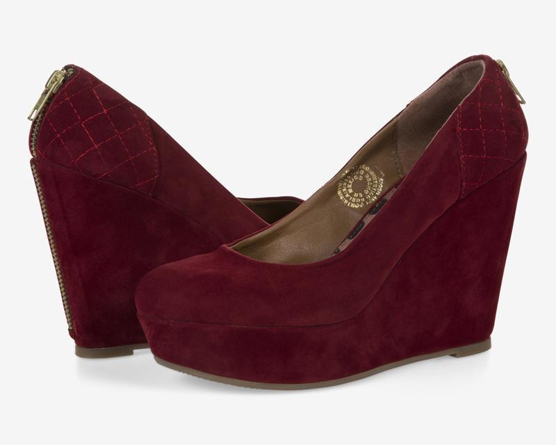 Coppel:  Zapatos Sahara Rojos a $199