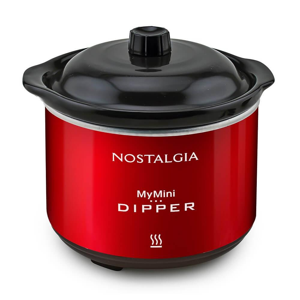 BEST BUY: Nostalgia - Fondue Personal - Rojo