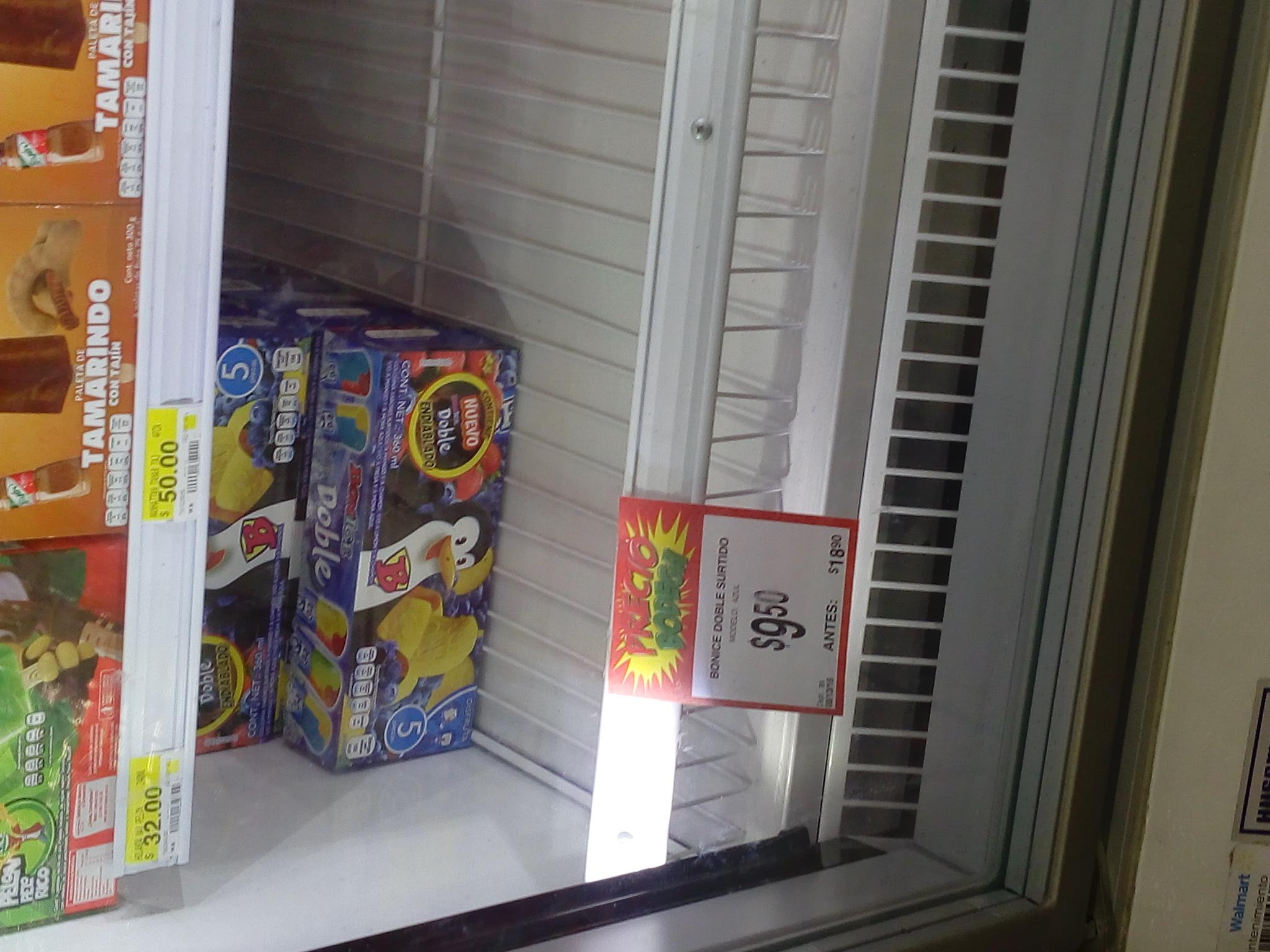 Bodega Aurrerá/Walmart: Bonice doble (paquete 5 piezas) a solo $10 pesos! Llevele llevele pa la calorsh!