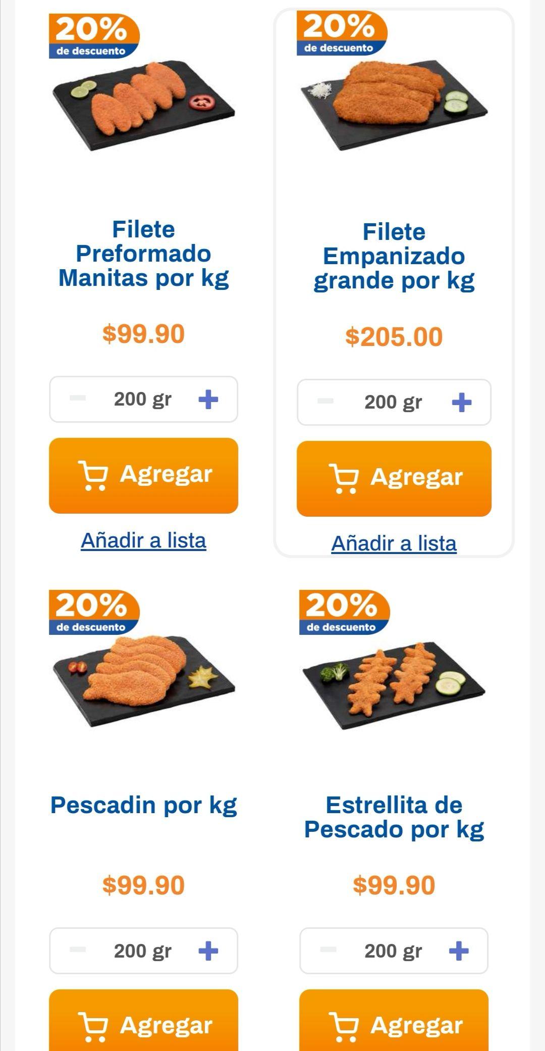 Chedraui: 20% de descuento en todos los empanizados a granel del depto. de pescados y mariscos y en toda la línea Rivera Group