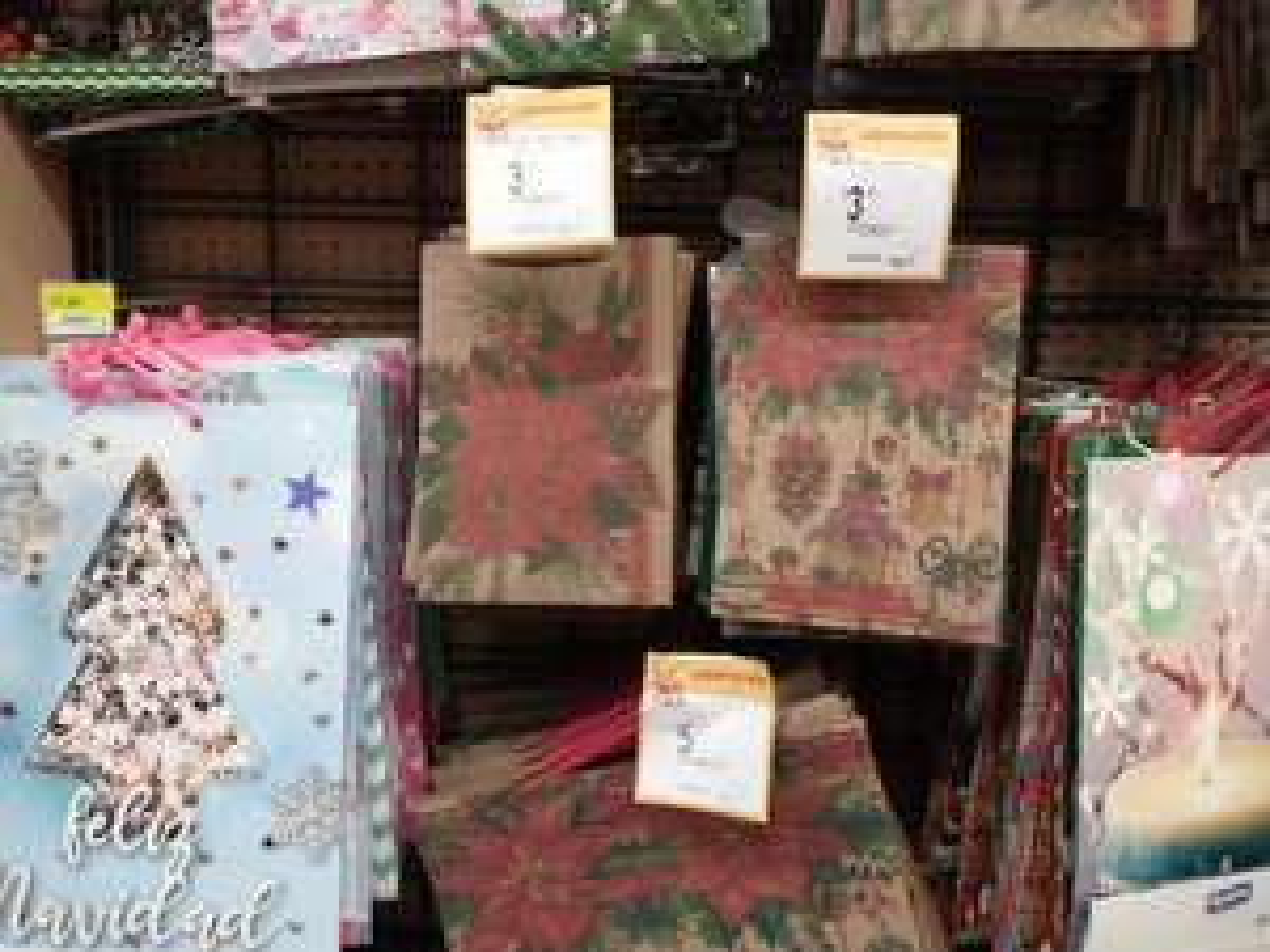 Walmart: Bolsas de regalo