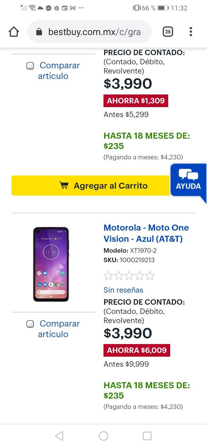 Best Buy: Motorola one vision