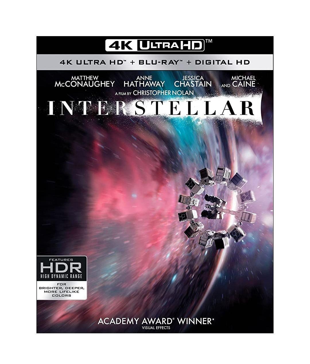Amazon: Interestelar formato físico 4k | Edición con 3 discos | Envío gratis con Prime | $394.30