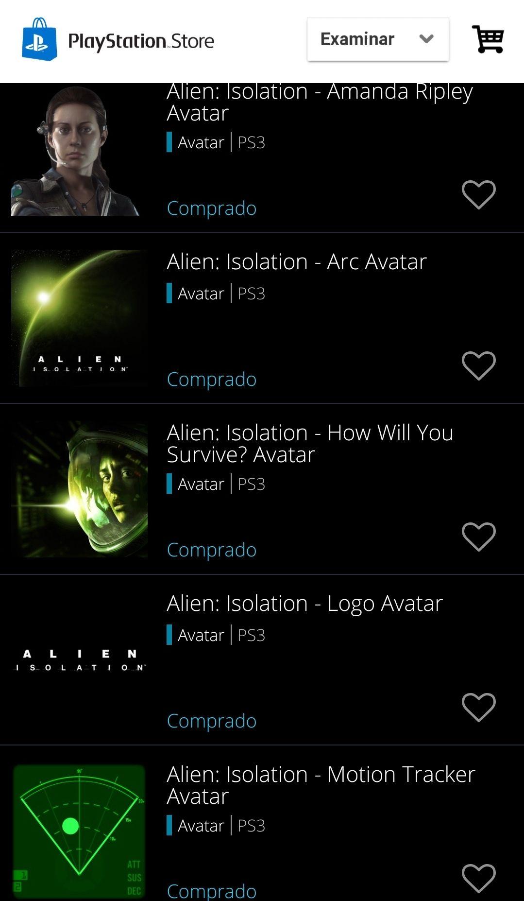 Playstation PSN Store: Avatares Premium Gratis