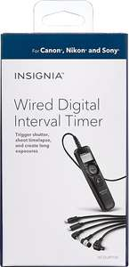Best Buy | Insignia - Temporizador Universal Digital - Negro
