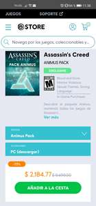 Ubisoft Store: Assassin's creed - animus pack - para PC