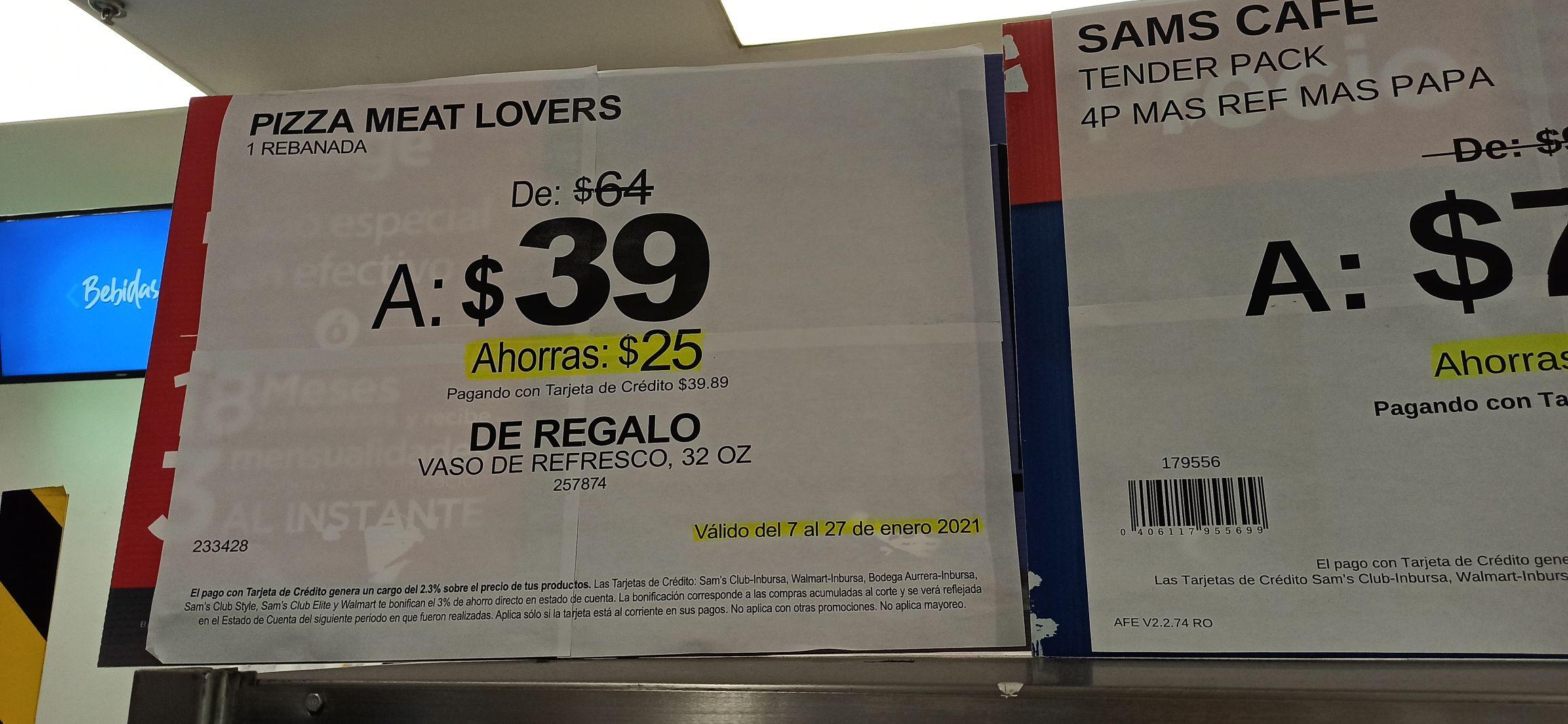 Sam's Club: Paquetes en fuente de sodas desde $39