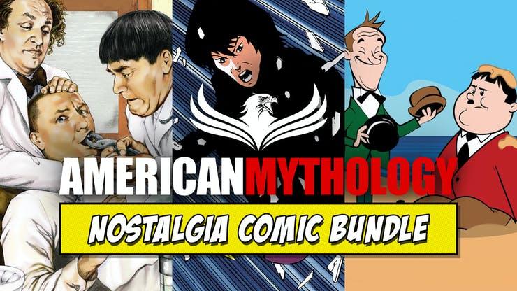 Fanatical: American Mythology Nostalgia Comic Bundle: 3 cómics GRATIS y hasta 32 cómics por 15 dólares (en inglés)