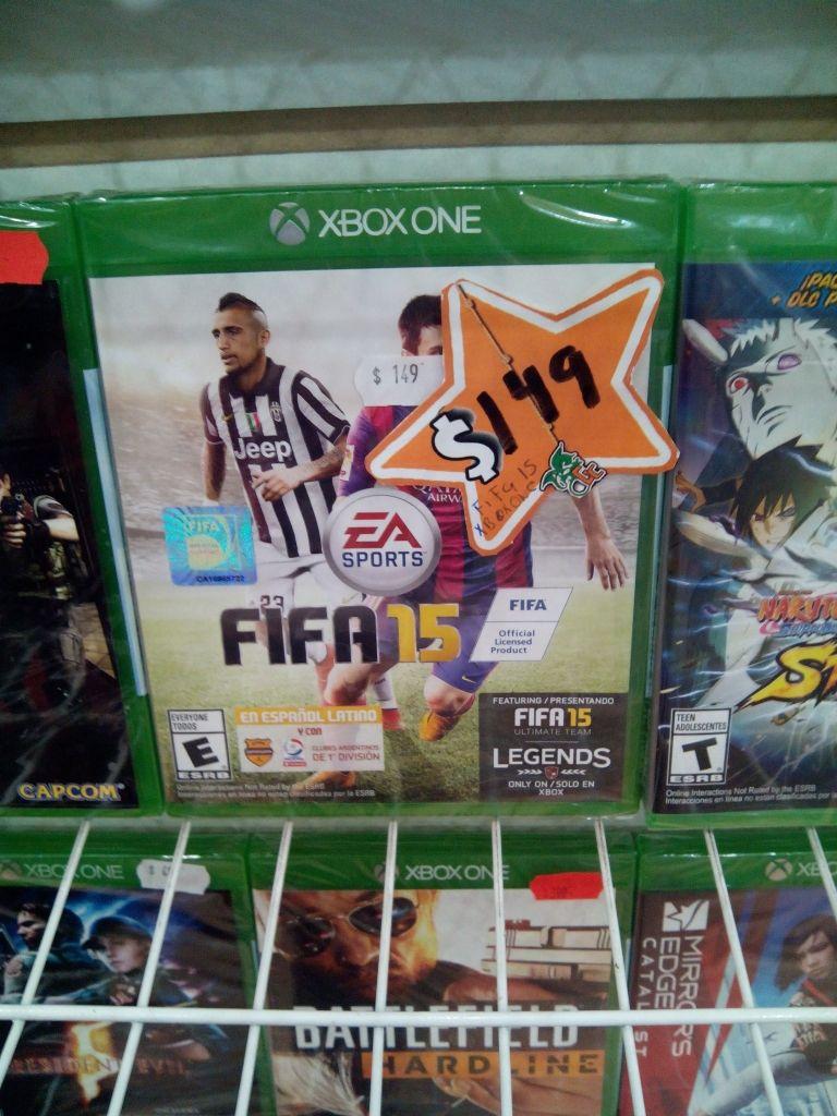Gamecool Plaza Sendero Querétaro: Fifa 15 para Xbox One a $150