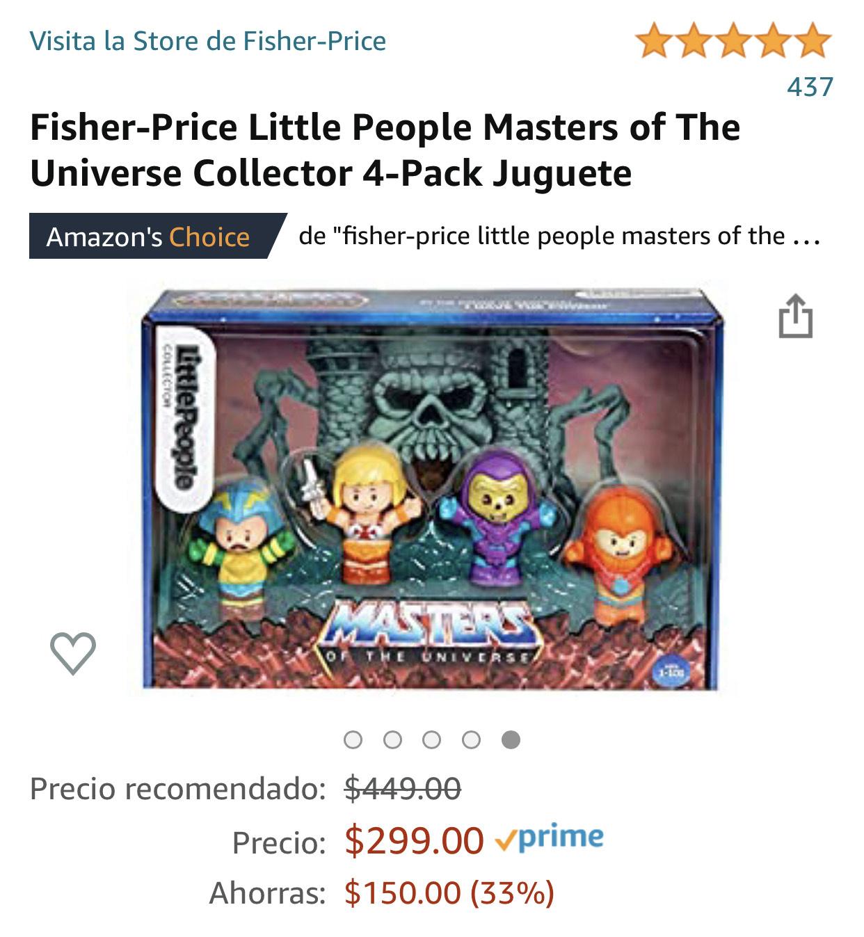 Amazonmx: Little People Masters of The Universe