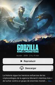 iTunes: Godzilla King Of The Monsters 4K