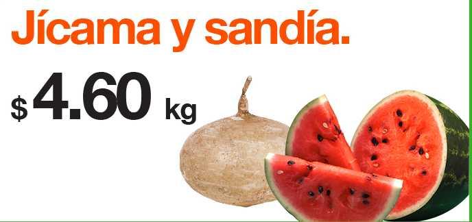 Miércoles de Plaza en La Comer agosto 8: sandía y jícama a $4.60 y más
