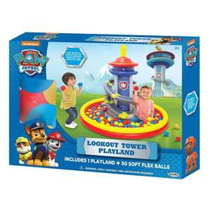 Walmart: Alberca Inflable Paw Patrol Lookout Tower con 50 Pelotas
