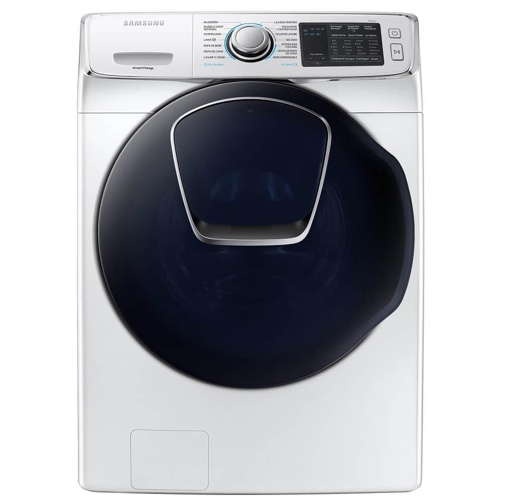 Best Buy: Samsung - Lavasecadora Carga Frontal Add Wash 20 Kg WD20N8710KW/AX - Blanca