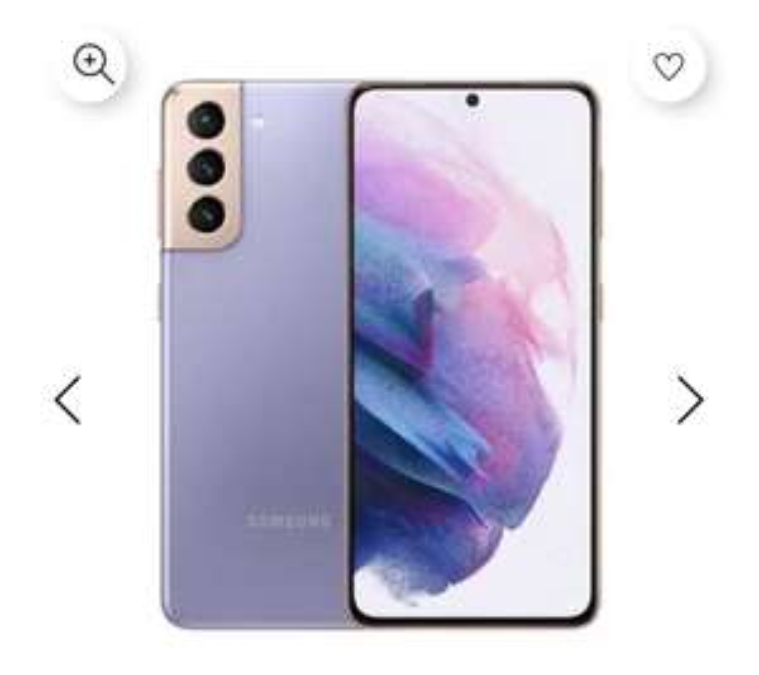 Doto: Galaxy S21 5G 128gb (Violeta, Gris y Blanco)