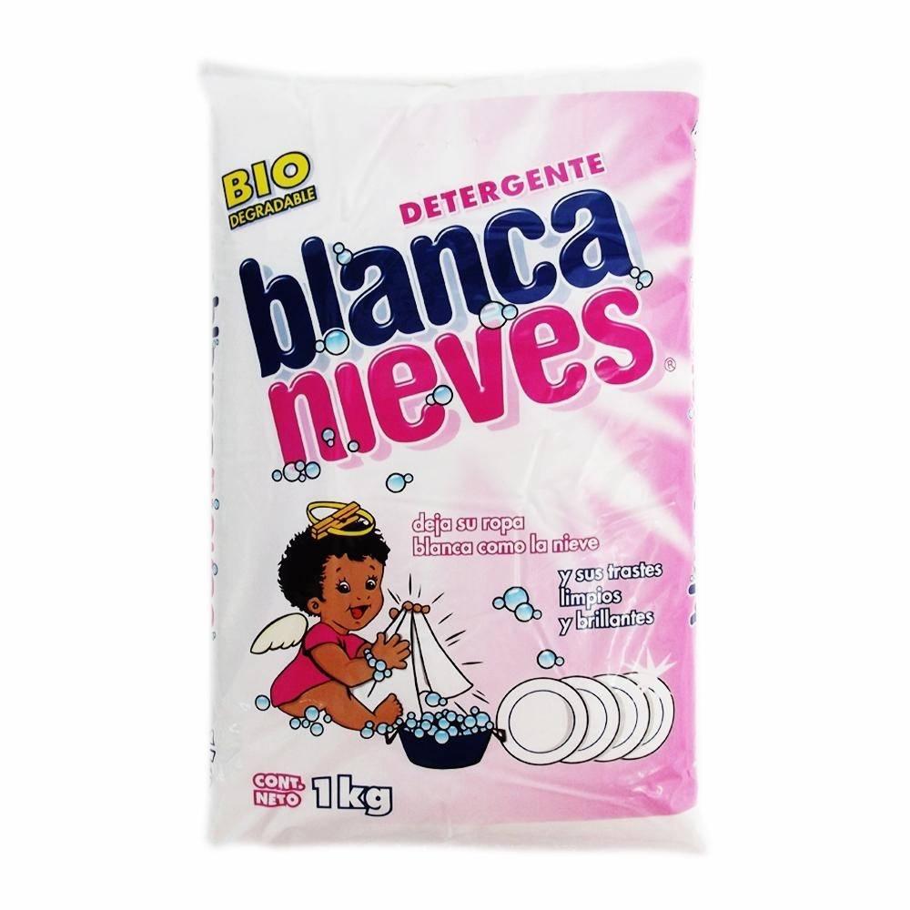 Superama: Detergente en polvo Blanca Nieves multiusos 1 kg 2 X $55.00