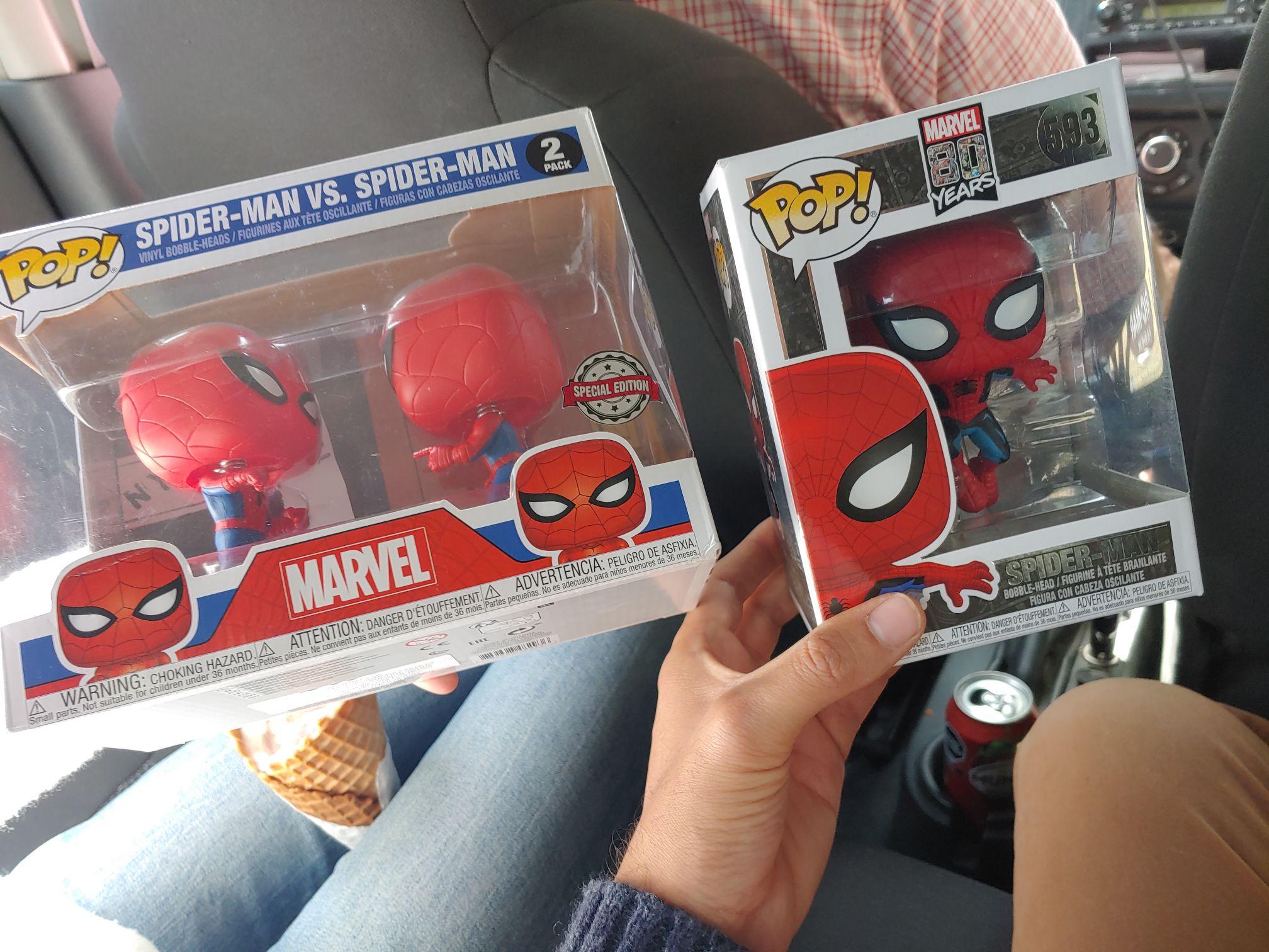 Del Sol: Funkos de spiderman man