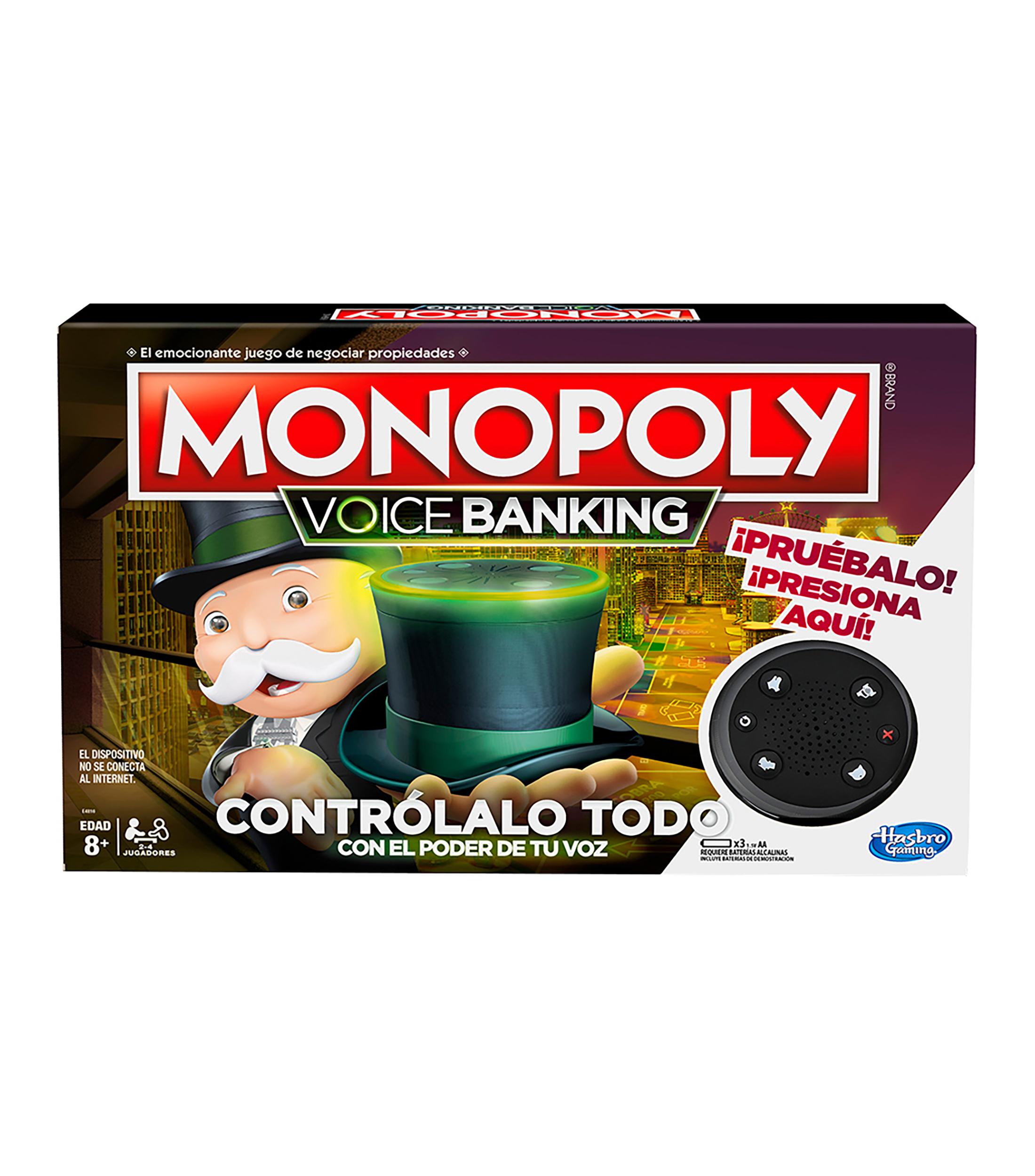 Palacio de hierro : Monopoly Voice Banking - Juego de mesa electrónico mejor precio de todas las tiendas