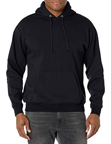 Amazon: Hanes Men's Pullover (Solo negro y talla CH.)