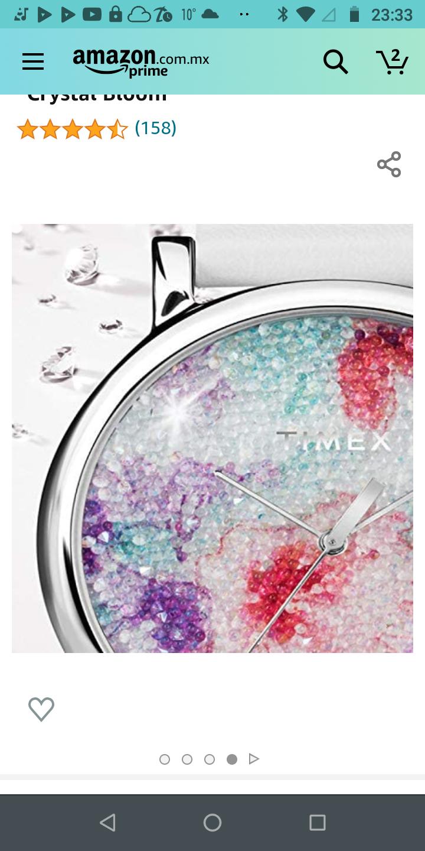 Amazon: Reloj Timex dé cristal Swarovski