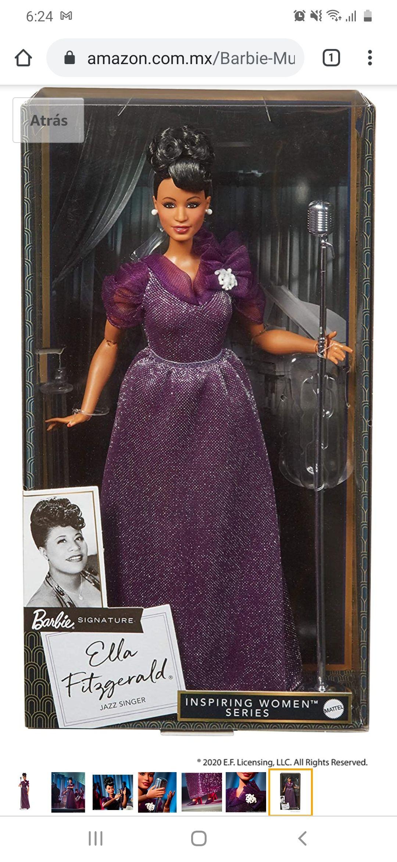 Amazon Barbie Signature Ella Fitzgerald
