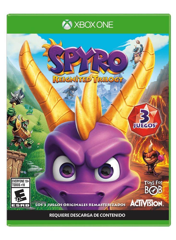 Best Buy:Xbox One - Spyro Reignited Trilogy - Aventura - Best Buy
