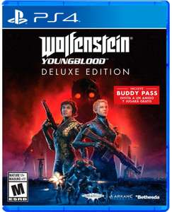Best Buy: Wolfenstein YoungBlood Deluxe Edition para PS4