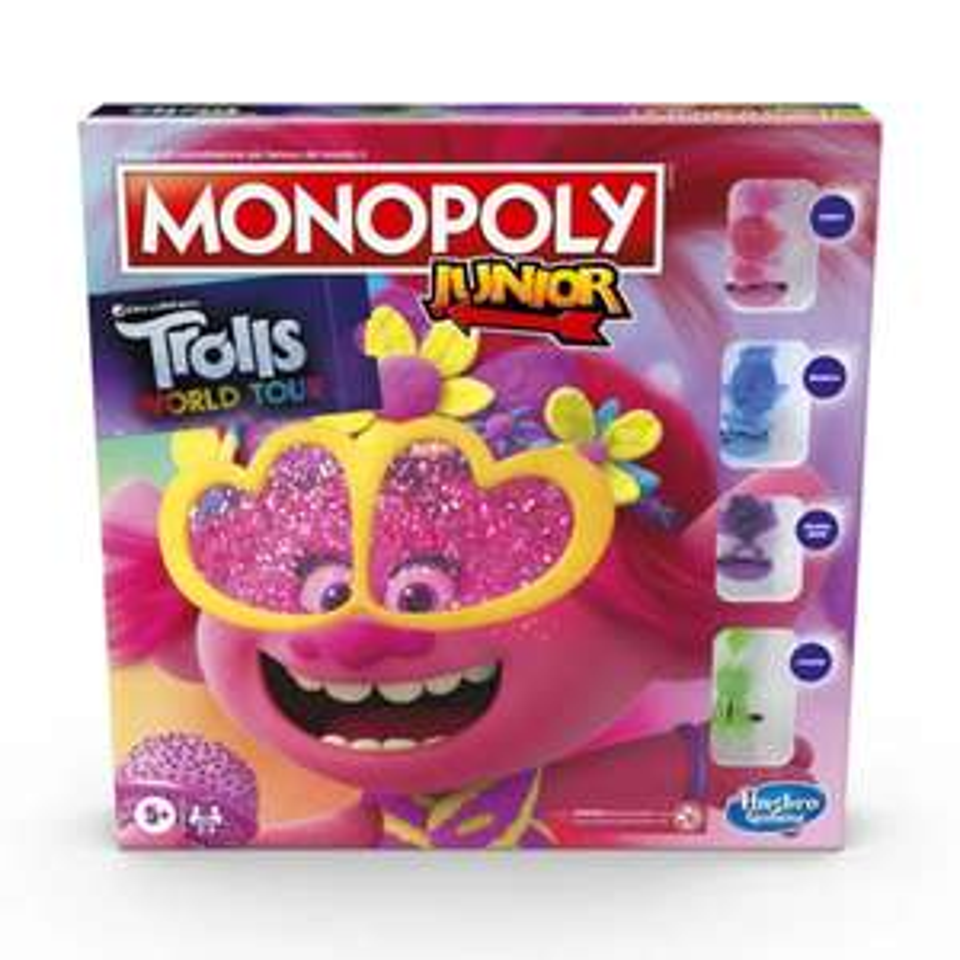 Bodega Aurrerá: Monopoly jr Hasbro Trolls