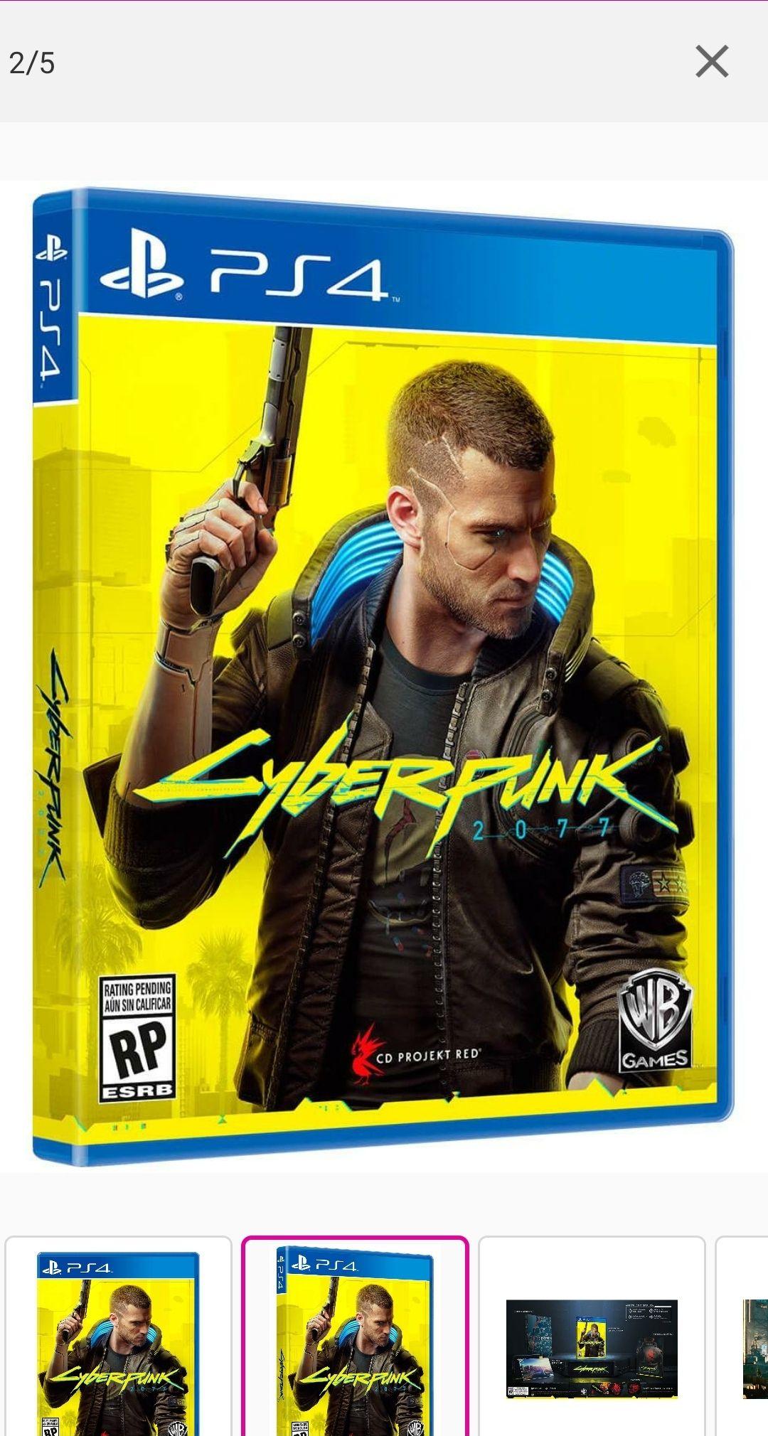 Liverpool: Cyberpunk 2077 edición standar ps4