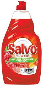 Amazon: Salvo Lavatrastes Líquido Frutos Rojos, 750 ml a $20.23