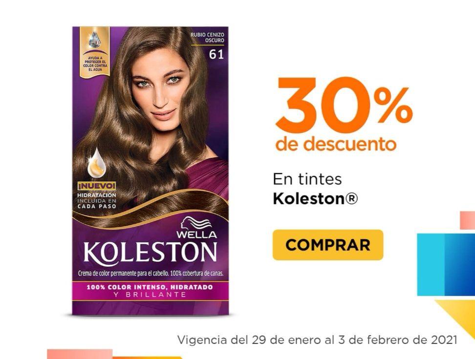 Chedraui: 30% de descuento en tintes Koleston