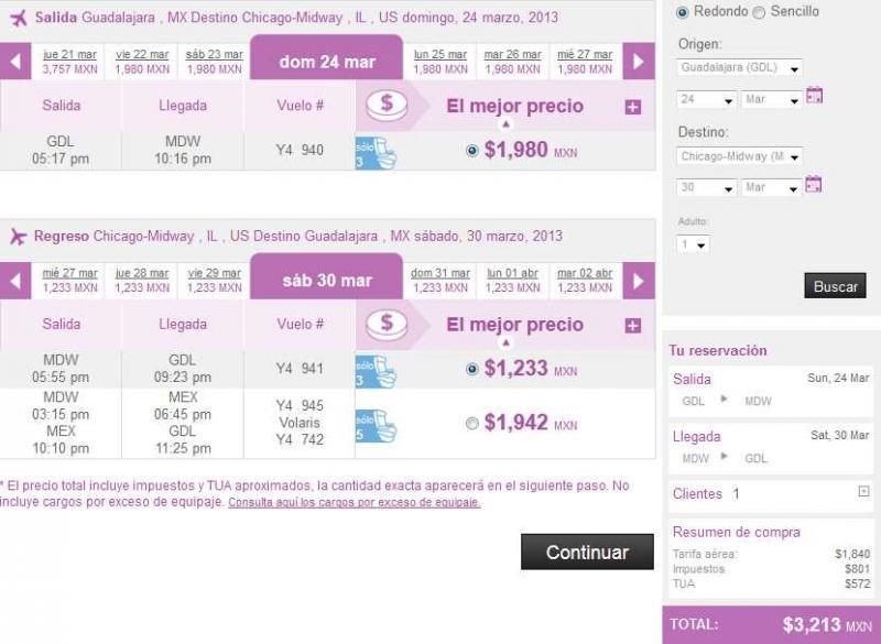 Volaris: viajes nacionales desde $799 y a EUA desde $149 USD en Semana Santa