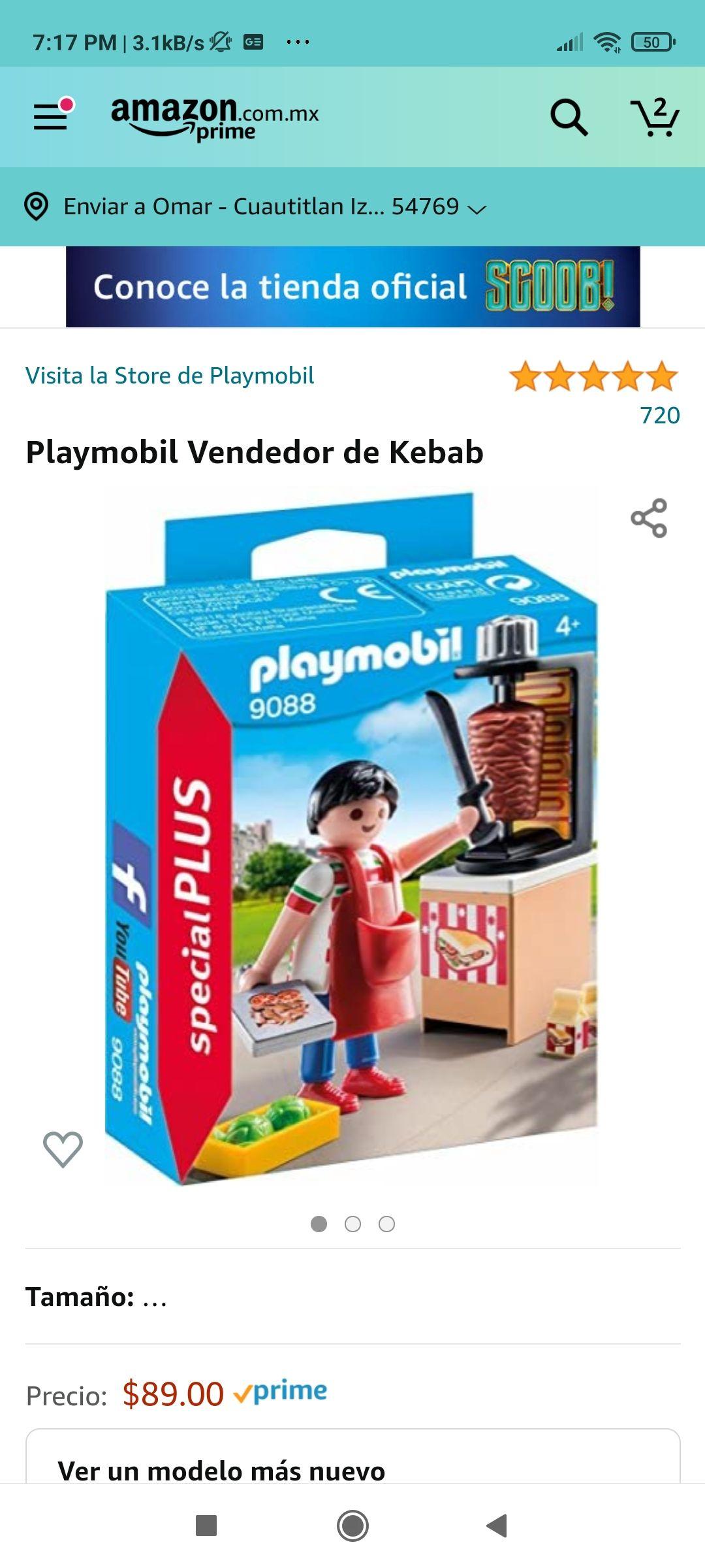 Amazon: Taquero Playmobil