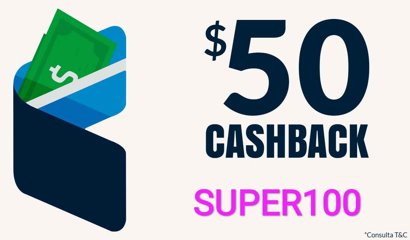 UnDosTres: Cashback de 100% en pagos de servicios y recargas tope máx $50