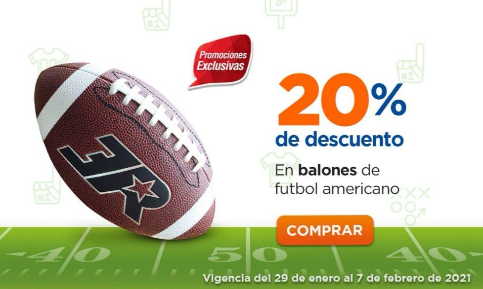 Chedraui: 20% de descuento en todos los balones de futbol americano