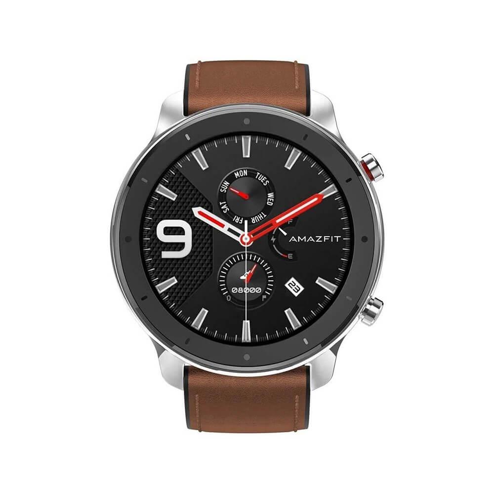 Best Buy: Amazfit - Smartwatch GTR 47mm Cafe Plata Best Buy DISPONIBLE!