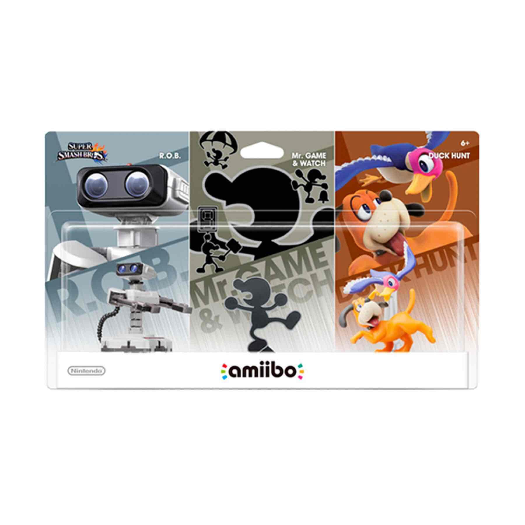 Palacio de Hierro en línea: Amiibo retro 3-pack