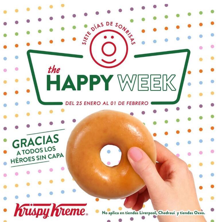 Krispy Kreme GRATIS a trabajadores esenciales