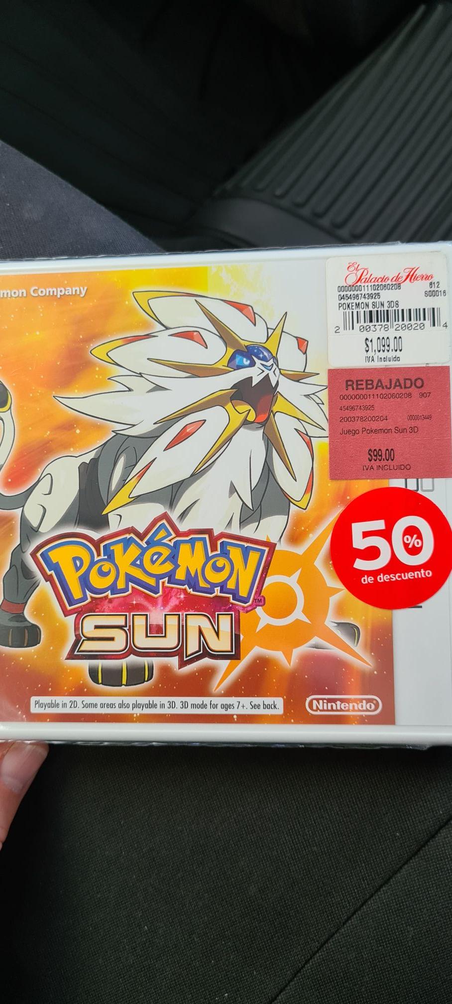 Palacio de Hierro GDL, Pokemon Sun 3DS
