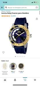 Amazon: Reloj invicta