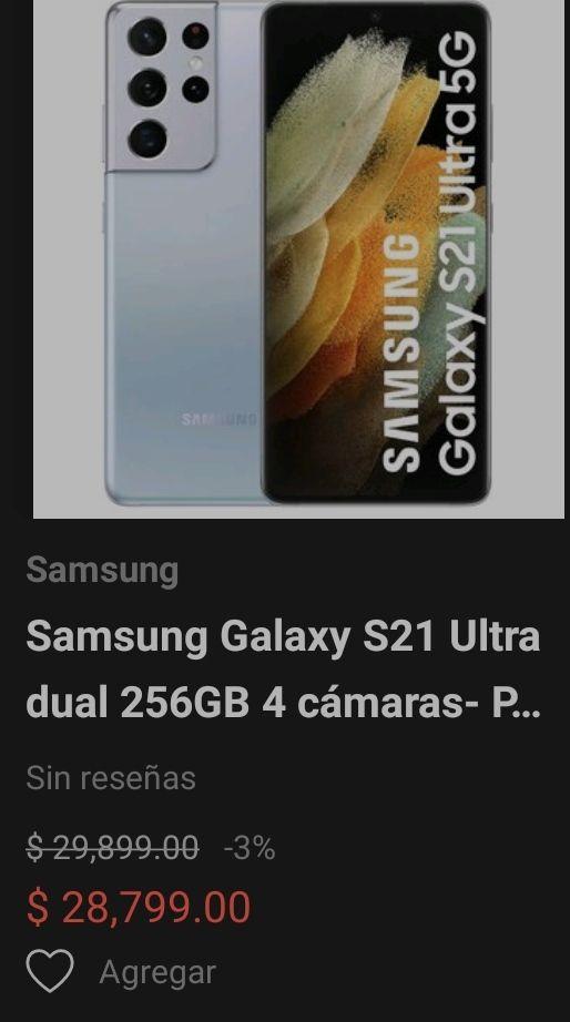 Linio. Nuevo Samsung Galaxy S21 ultra