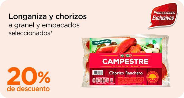 Chedraui: 20% de descuento en quesos manchego a granel, en longanizas y chorizos a granel y empacados, y más