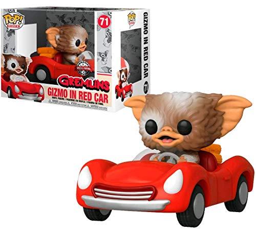 Amazon Funko Gizmo en Carro Rojo Pop Gremlins Exclusivo