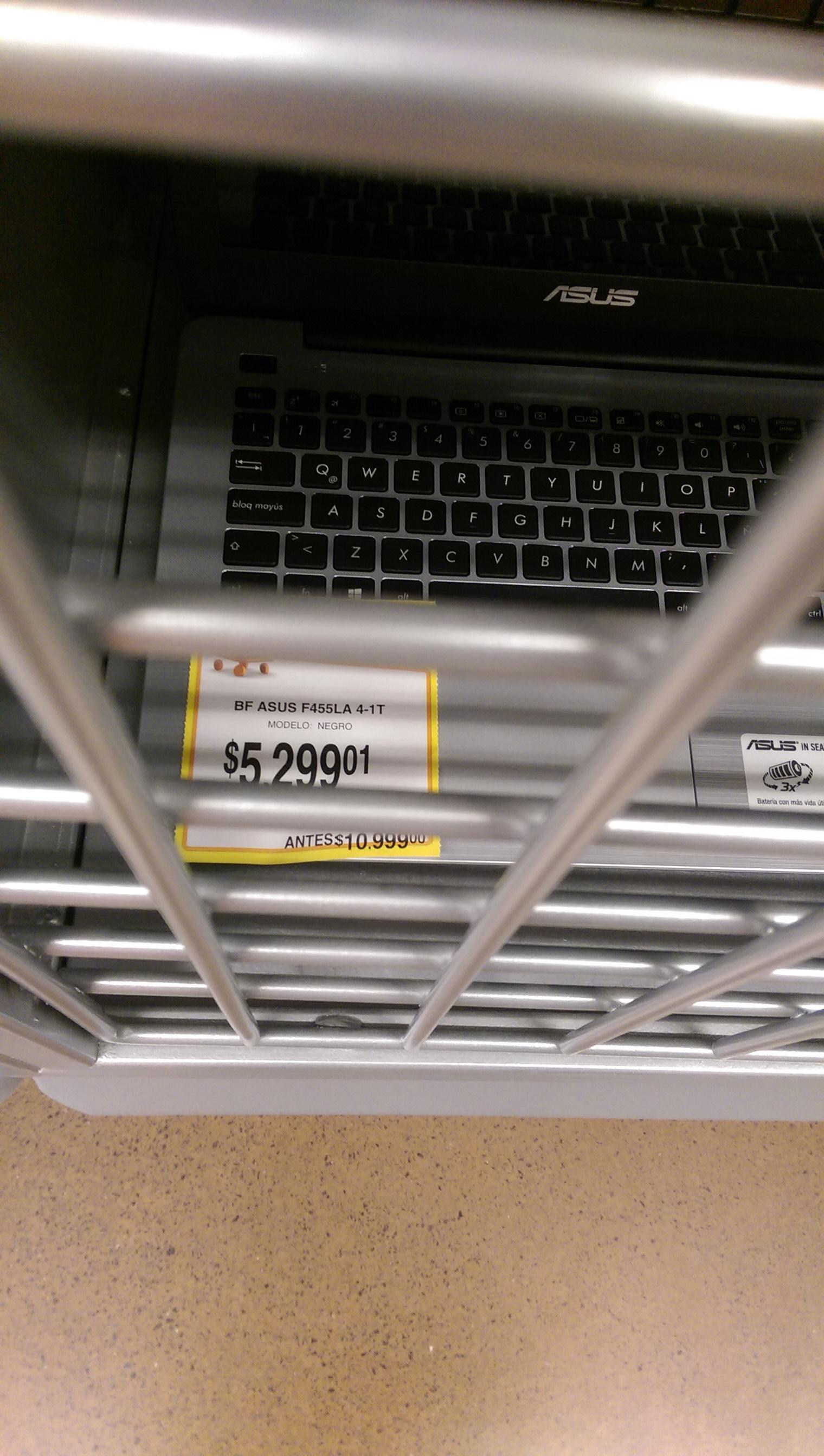 Walmart Palomar GDL: Lap Asus F455LA a $5,299.01
